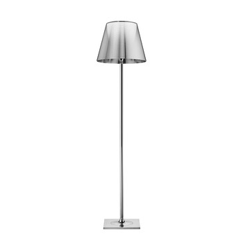 KTribe F Floor Lamp On/Off Switch - Polished Chrome