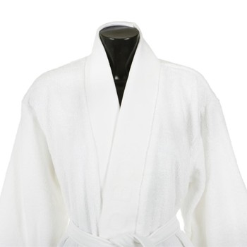 Plain Bathrobe - Ice