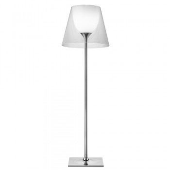 KTribe F Floor Lamp with Dimmer - Transparent