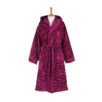 Zebrona Hooded Bathrobe - 769