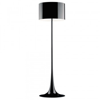 Spun Light Floor Lamp - Black