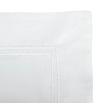 Triomphe Sateen Pillowcase - White