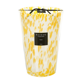 Pearls Scented Candle - Citrine Pearls