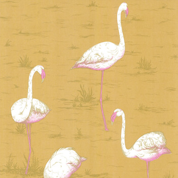 Flamingos Wallpaper - 66/6045