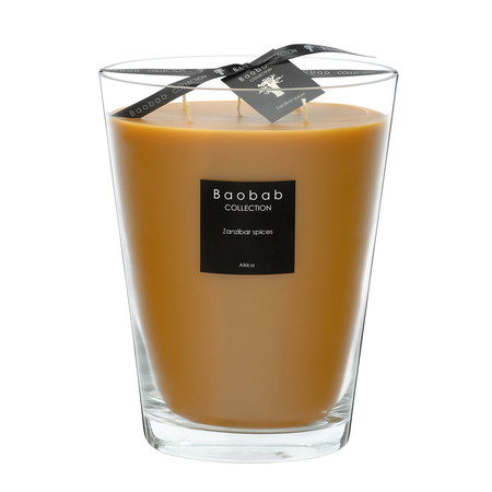 Baobab Collection - All Seasons Scented Candle - Zanzibar Spices - 24cm