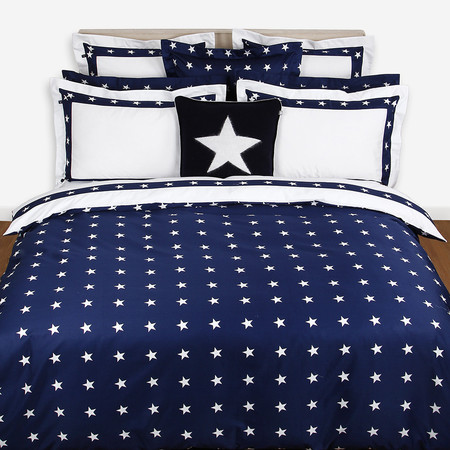 navy blue duvet cover sets bedding uk star border