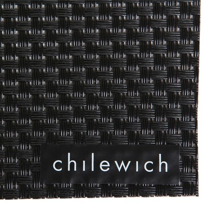 Chilewich - Basketweave Rectangle Placemat - Black