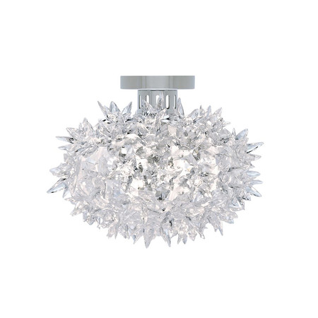 Kartell - Crystal Bloom Ceiling Lamp - 28x22cm