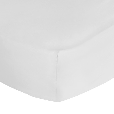 Ralph Lauren Home - Polo Player Fitted Sheet - White - Double