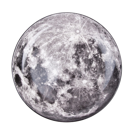 Diesel Living with Seletti - Cosmic Teller - 30cm - Mond