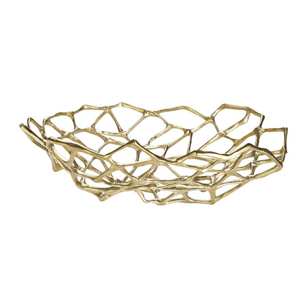 Tom Dixon - Brass Bone Bowl - Large