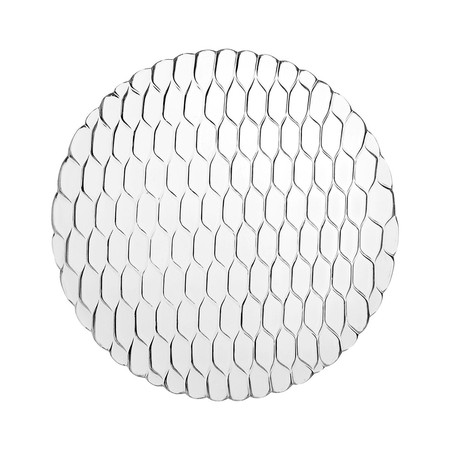 Kartell - Jellies Family Dinner Plate - Crystal
