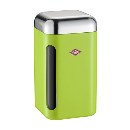 Wesco - Square Canister - 1.65L - Lime Green