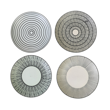 Pols Potten - Afresh Pastel Plates - Set of 4 - Large