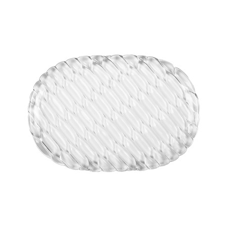 Kartell - Jellies Family Oval Tray - Crystal