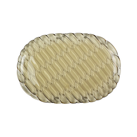 Kartell - Jellies Family Oval Tray - Green
