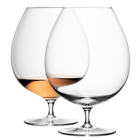 LSA International - Verres à Brandy Bar - Lot de 2