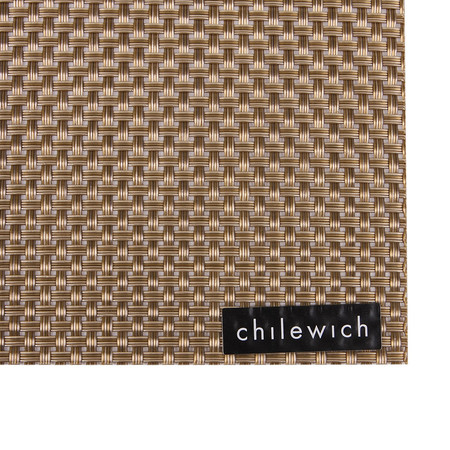 Chilewich - Set de Table Rectangle Basketweave - Or