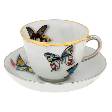 Christian Lacroix - Butterfly Parade Coffee Cup & Saucer