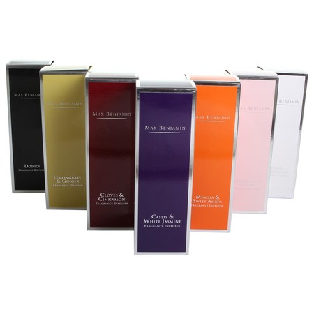 Max Benjamin - Classic Collection Reed Diffuser - 150ml - Lemongrass & Ginger