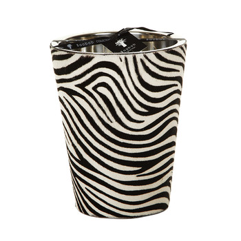 Jungle Safari Scented Candle - Black & White