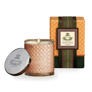 Woven Crystal Candle - Balsam