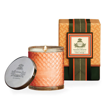 Woven Crystal Candle - Bitter Orange
