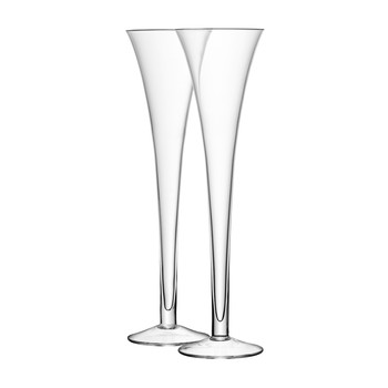 Bar Grand Hollow Stem Flutes - Set of 2