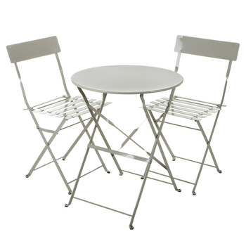 Rive Droite Bistro Table & Chairs Set - Clay