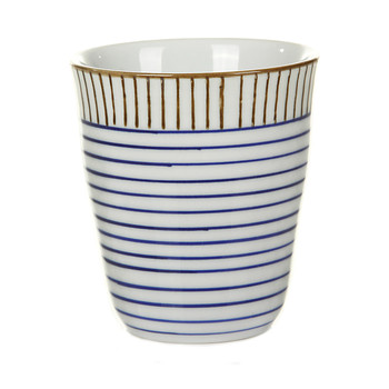 Block Stripe Cups - Set of 6