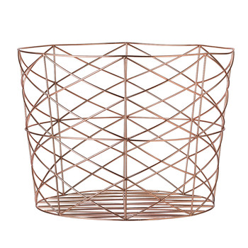 Storage Basket - Copper