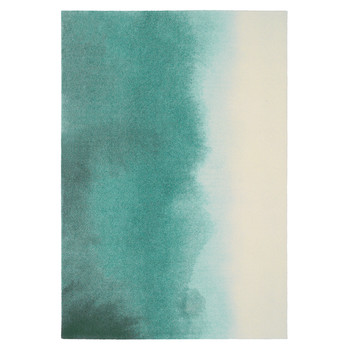 Teal Paintbox Teppich