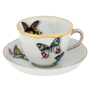 Butterfly Parade Coffee Cup & Saucer