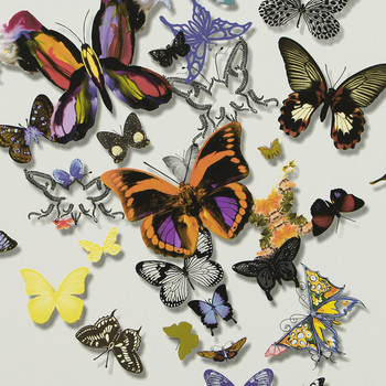 Butterfly Parade Wallpaper - PCL008/01 - Multicolore