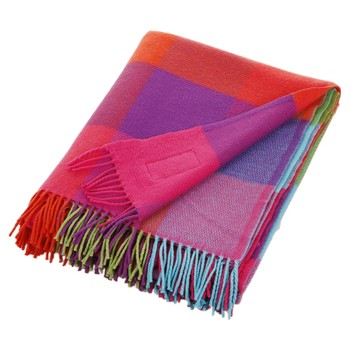Cashmere Mix Throw Silken Multi - 142x183cm