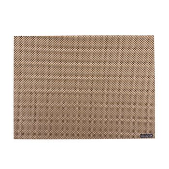 Basketweave Rectangle Placemat - New Gold