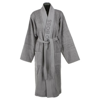 Plain Bathrobe - Concrete