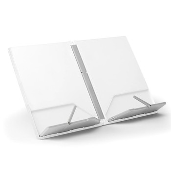 Cook Book Stand - White/Grey