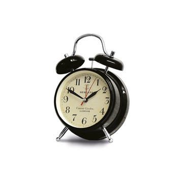 Covent Garden Alarm Clock - Black - Medium