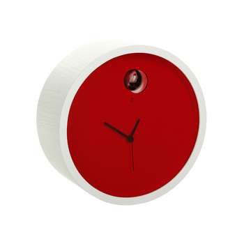 Plex Wall Clock - Red