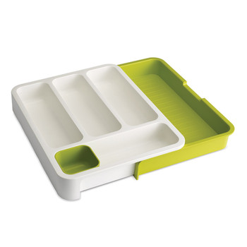 Drawer Store - White/Green