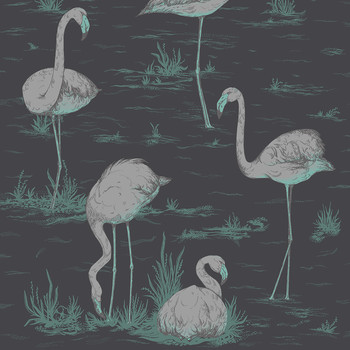 Flamingos Wallpaper - 95/8048
