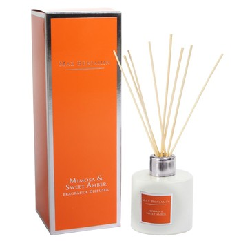 Reed Diffuser - Mimosa & Sweet Amber - 150ml