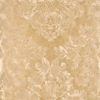 Fresco Damask Wallpaper - FG055/A128 Mole/Pewter