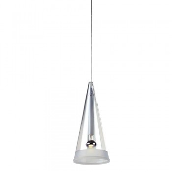 Fuchsia 1 Ceiling Light - White