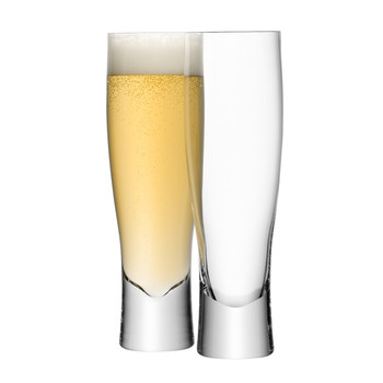 Bar Lager Glasses - Set of 2