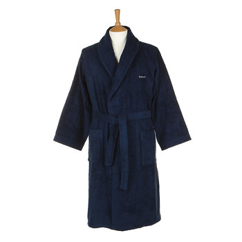 Men's Classic Light Weight Robe - Navy