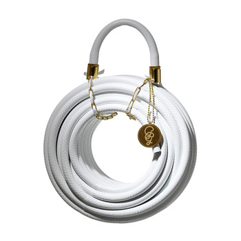 Garden Hose - 20 Meters Long - White Snake