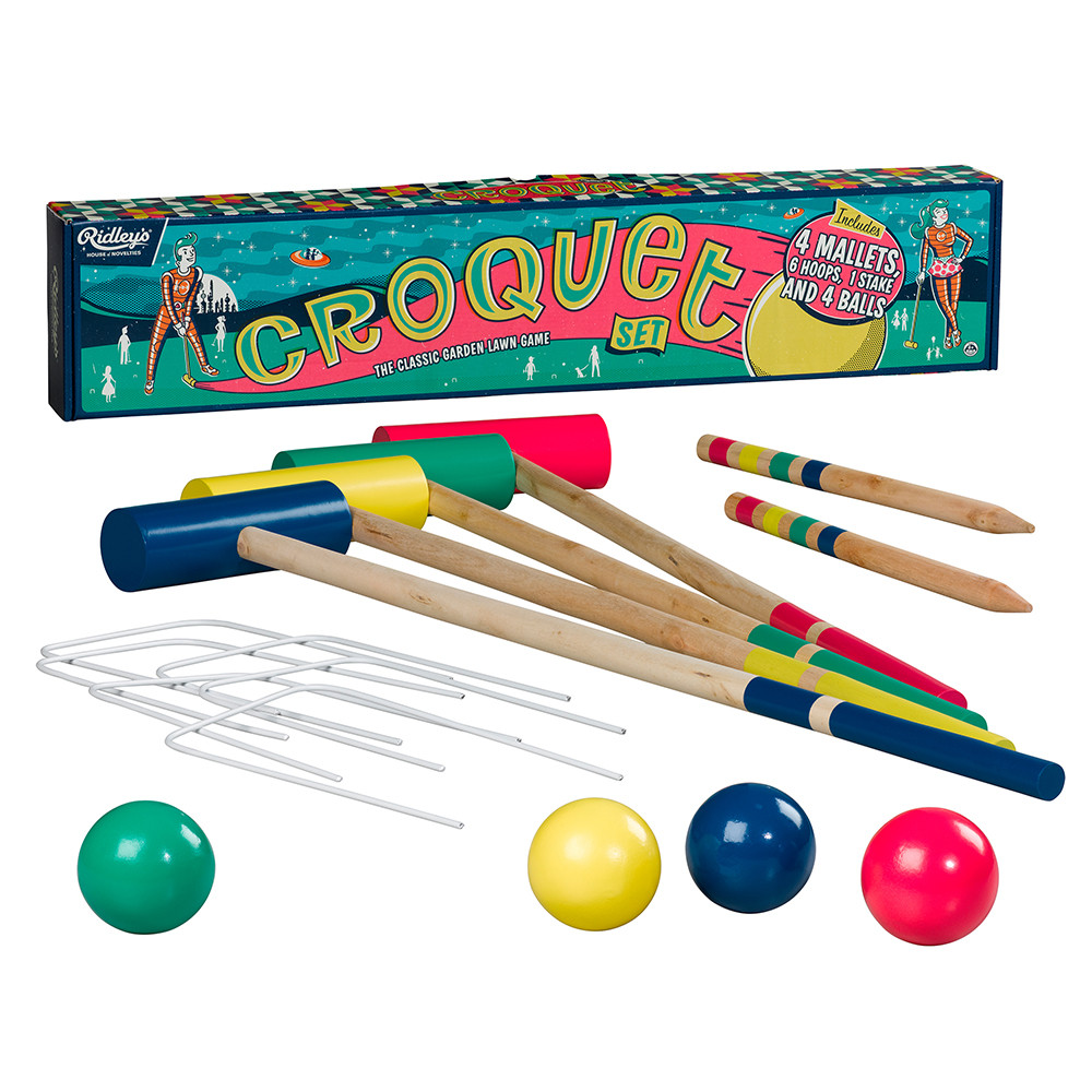 Ridley's Games Room - Croquet Set