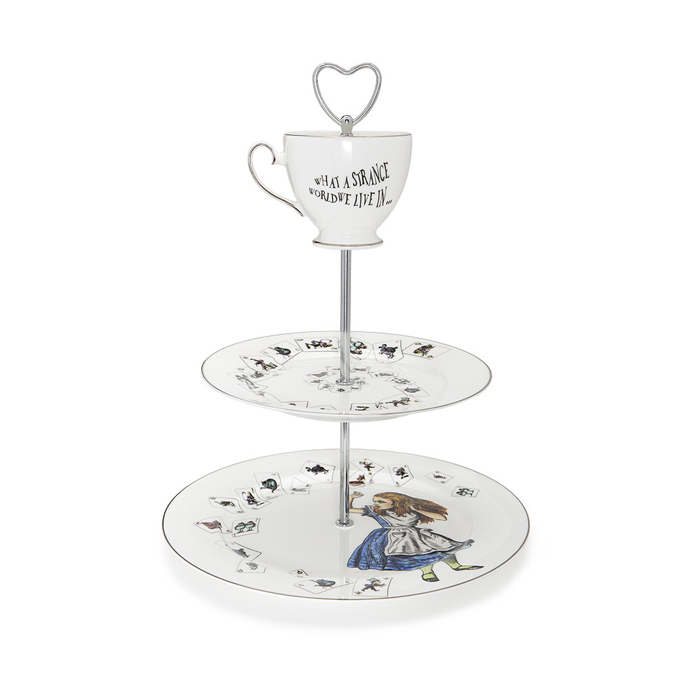 Mrs Moore S Vintage Alice In Wonderland 3 Tier Cake Stand Amara